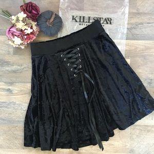 Killstar Cordelia Skater Skirt M BNWT